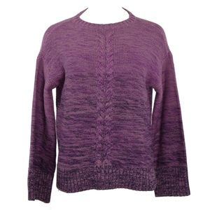 Style & Co Front Braid Pullover Sweater S NWT